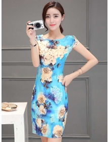 dress korea D3730