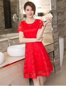 dress brukat D3742