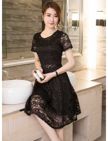 dress brukat D3745