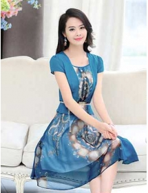 dress korea D3754