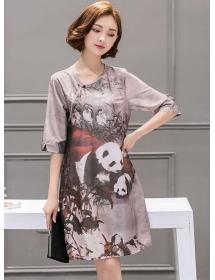 dress panda D3764
