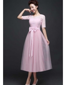 long dress brukat D3768