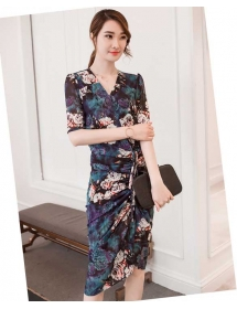 dress korea D3772