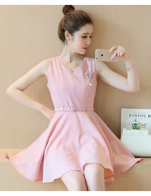 dress korea D3777