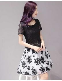 dress korea D3788