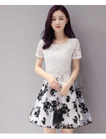 dress korea D3789