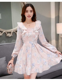 dress korea D3796