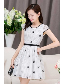 dress korea D3805
