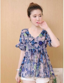 blouse chiffon T3413