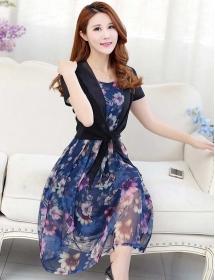 dress wanita import d3495