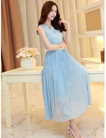 long dress chiffon D3815