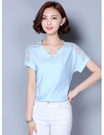 blouse korea T3422