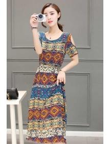 midi dress batik D3826