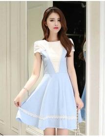 dress korea D3834