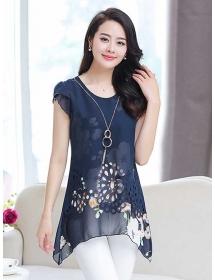 blouse chiffon T3442