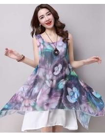dress wanita import D3845