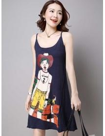 dress wanita import D3852