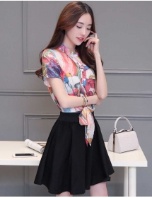 dress wanita import D3862