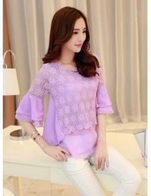 blouse brukat T3467