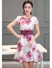 dress korea D3867