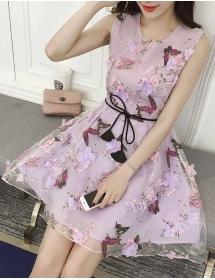 dress pesta D3869