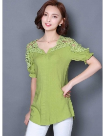 blouse korea T3478