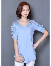 blouse korea T3479