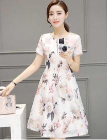 dress korea D3889