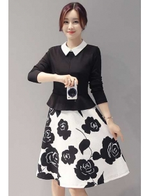 dress korea D3890