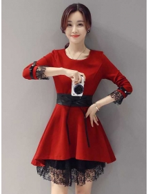 dress korea D3892