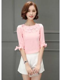 blouse korea T3485
