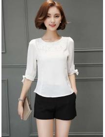blouse korea T3487