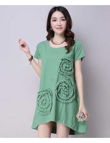 dress wanita import D3906