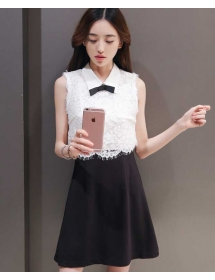 dress wanita korea D3910
