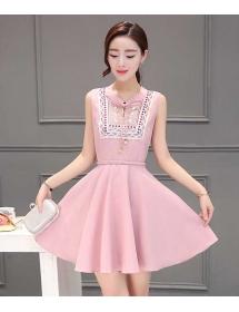 dress korea D3912