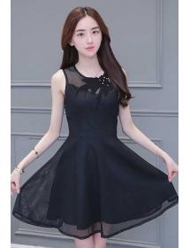 dress korea D3914