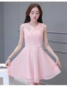 dress korea D3915