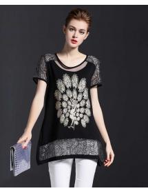 blouse wanita import T3493