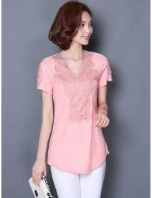 blouse wanita korea T3496
