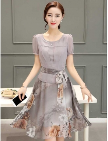 dress korea D3919