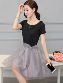 dress korea D3926
