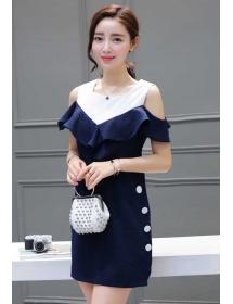 dress korea D3931