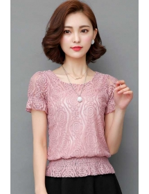 blouse brukat korea T3528