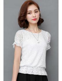 blouse brukat korea T3529
