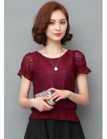 blouse brukat korea T3530