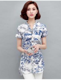 blouse wanita import T3531