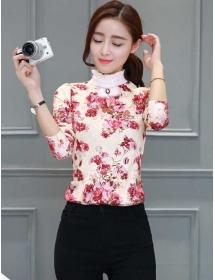 blouse brukat korea T3534