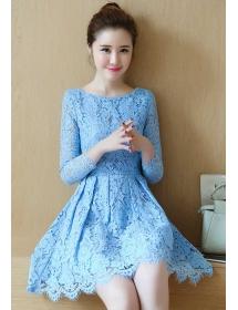 dress brukat D3938