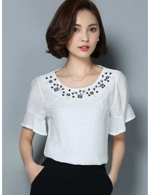 blouse korea T3542