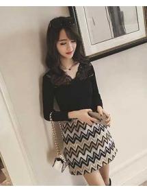 blouse lengan panjang T3552